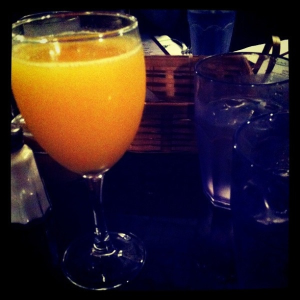 One Mimosa Coming Up Please!